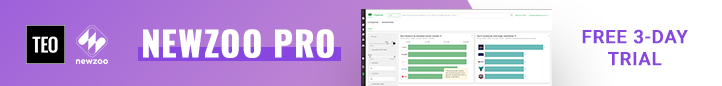 Join Newzoo Pro 3 day trial
